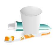 Οδοντικά αντικείμενα υγιεινής Στοκ φωτογραφία με δικαίωμα ελεύθερης χρήσης