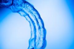 Οδοντικά αόρατα στηρίγματα υποστηριγμάτων δοντιών υπηρετών στοκ φωτογραφίες με δικαίωμα ελεύθερης χρήσης