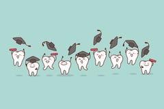 Οδοντική έννοια προσοχής υγείας ελεύθερη απεικόνιση δικαιώματος