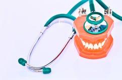 Οδοντική εξέταση Στοκ Εικόνες