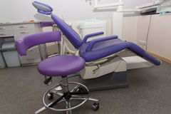 Οδοντική καρέκλα Στοκ Φωτογραφίες