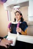 Οδοντική πανοραμική ακτίνα X Στοκ φωτογραφίες με δικαίωμα ελεύθερης χρήσης