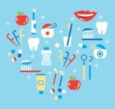 Οδοντική προσοχή Στοκ Φωτογραφίες