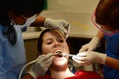 Οδοντική φοβία Στοκ φωτογραφίες με δικαίωμα ελεύθερης χρήσης