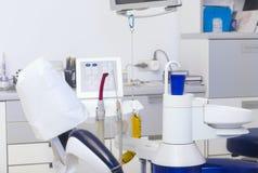 Οδοντικός εξοπλισμός κλινικών Στοκ φωτογραφία με δικαίωμα ελεύθερης χρήσης