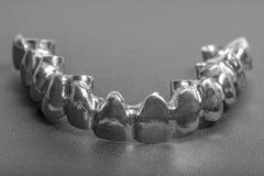 Οδοντικός στενός ένας επάνω προσθετικής Στοκ φωτογραφίες με δικαίωμα ελεύθερης χρήσης