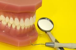 οδοντικός διαγωνισμός Στοκ Εικόνα