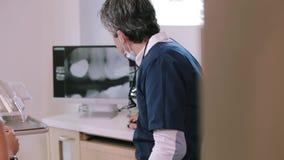 οδοντικό γραφείο απόθεμα βίντεο