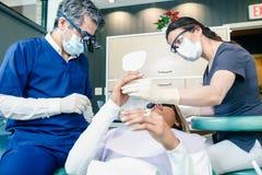 οδοντικό γραφείο Στοκ Φωτογραφίες