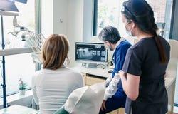 οδοντικό γραφείο Στοκ εικόνες με δικαίωμα ελεύθερης χρήσης