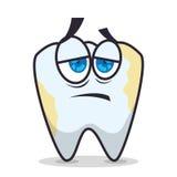 Οδοντικό σχέδιο προσοχής διανυσματική απεικόνιση