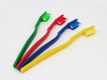 Οδοντόβουρτσες σε ένα άσπρο υπόβαθρο Στοκ Εικόνα