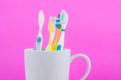 Οδοντόβουρτσες Στοκ εικόνες με δικαίωμα ελεύθερης χρήσης