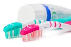 οδοντόβουρτσες Στοκ φωτογραφίες με δικαίωμα ελεύθερης χρήσης