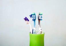 οδοντόβουρτσες Στοκ φωτογραφία με δικαίωμα ελεύθερης χρήσης