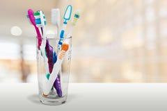 οδοντόβουρτσες Στοκ Φωτογραφίες