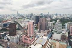 Ο ορίζοντας Ταϊλάνδη Μπανγκόκ εικονικής παράστασης πόλης είναι μητρόπολη στοκ φωτογραφίες με δικαίωμα ελεύθερης χρήσης