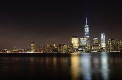 Ο ορίζοντας της Νέας Υόρκης Στοκ Φωτογραφία
