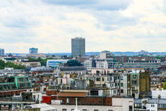 Ο ορίζοντας του Λονδίνου που βλέπει από τη θέση αντιβασιλέων Στοκ Εικόνα