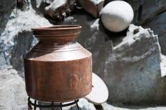 ο ορείχαλκος σφυρηλάτη& Στοκ φωτογραφία με δικαίωμα ελεύθερης χρήσης