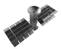 Ο δορυφόρος τηλεπικοινωνιών απομονώνει, ψαλιδίζοντας την πορεία Στοκ φωτογραφίες με δικαίωμα ελεύθερης χρήσης