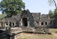 Ο 12ος αιώνας ναών Khan Preah σε Angkor Wat, Siem συγκεντρώνει, Καμπότζη Στοκ Εικόνες