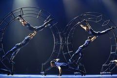 Ο 10ος ανταγωνισμός χορού φεστιβάλ τέχνης της Κίνας Στοκ Εικόνα