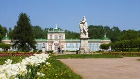 ο 18$ος είναι καλοκαίρι της Ρωσίας κατοικιών της Μόσχας μνημείων kuskovo κτημάτων πληθυσμών αιώνα sheremetyev σε μοναδικό χρησιμο Στοκ Φωτογραφίες