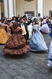 Ο 19ος χορός αιώνα Στοκ εικόνες με δικαίωμα ελεύθερης χρήσης