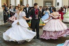 Ο 19ος χορός αιώνα Στοκ Εικόνα
