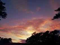 Ο ουρανός είναι ένας καμβάς στοκ εικόνες με δικαίωμα ελεύθερης χρήσης