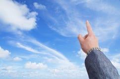 Ο ουρανός είναι η έννοια ορίου Στοκ Φωτογραφίες