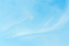 Ο ουρανός είναι σαφής Στοκ Φωτογραφία