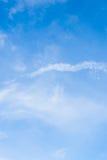 Ο ουρανός είναι σαφής Στοκ Εικόνα
