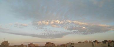 Ο ουρανός θα μπορούσε πρωί να λιάσει βροχής Στοκ εικόνες με δικαίωμα ελεύθερης χρήσης