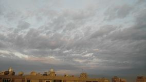 Ο ουρανός θα μπορούσε πρωί να λιάσει τη βροχή ανέμων Στοκ φωτογραφία με δικαίωμα ελεύθερης χρήσης