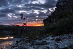 Ο ουρανός και ο βράχος Στοκ Φωτογραφίες