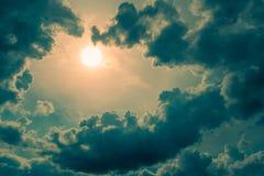 Ο ουρανός της φαντασίας Στοκ εικόνα με δικαίωμα ελεύθερης χρήσης