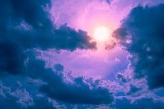 Ο ουρανός της φαντασίας Στοκ φωτογραφία με δικαίωμα ελεύθερης χρήσης