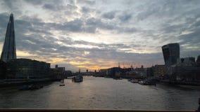 Ο ουρανός του Λονδίνου Στοκ Φωτογραφίες