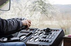 Ο οδηγός λεωφορείου Στοκ εικόνες με δικαίωμα ελεύθερης χρήσης