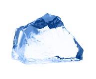 ο πάγος κύβων απομόνωσε το λευκό Στοκ Φωτογραφία
