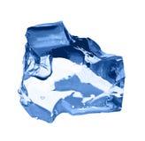 ο πάγος κύβων απομόνωσε το λευκό Στοκ Εικόνα