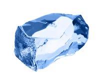 ο πάγος κύβων απομόνωσε το λευκό Στοκ εικόνα με δικαίωμα ελεύθερης χρήσης