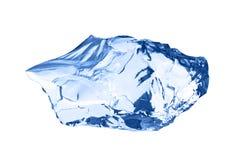 ο πάγος κύβων απομόνωσε το λευκό Στοκ φωτογραφίες με δικαίωμα ελεύθερης χρήσης