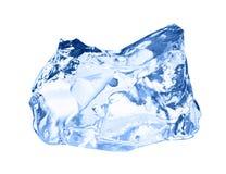 ο πάγος κύβων απομόνωσε το λευκό Στοκ εικόνες με δικαίωμα ελεύθερης χρήσης