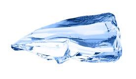 ο πάγος κύβων απομόνωσε το λευκό Στοκ Εικόνες