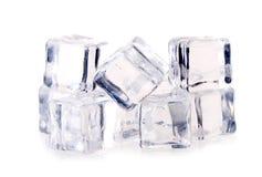 ο πάγος κύβων απομόνωσε τ&omicr Στοκ Φωτογραφίες