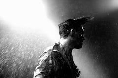 Ο Πάτρικ Wolf (τραγουδιστής από το Λονδίνο) αποδίδει σε Apolo Στοκ Φωτογραφίες