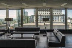 19ο πάτωμα άποψης Ville Marie θέσεων Στοκ Εικόνα